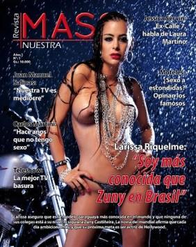 Larissa Riquelme: Catfight N Topless